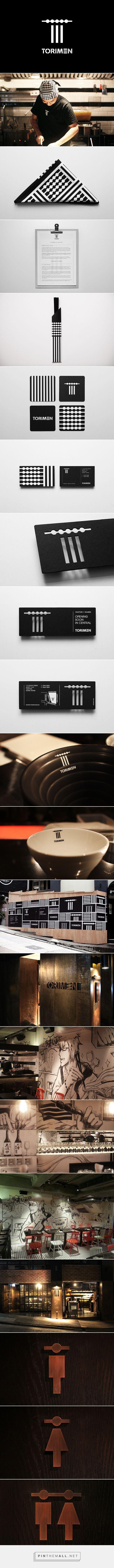 Japanese Yakitori & Ramen restaurant identity - TorimenArt and design inspiration from around the world – CreativeRoots - created via https://pinthemall.net