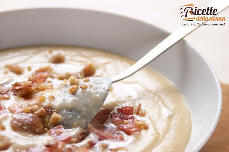 Zuppa di patate e castagne ricetta e foto