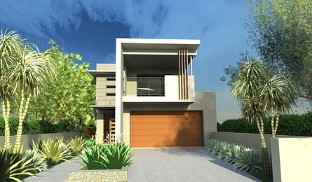 small and narrow home designs for small sites and tight blocks of land.