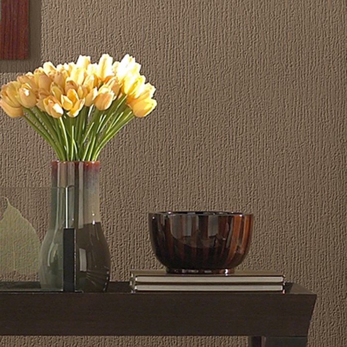 Woodchip Cover Wallpaper - Bark Wall Coverings by Graham  Brown