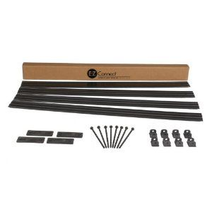 E-Z Connect 1704BK-16C Professional Landscape Edging Project Kit, 16-Feet, Black by E-Z Connect®. $34.95. Clean thin top edge to delineate border. Heavy, contractor-grade 4 In. high landscape edging system in easy-to-handle 4 ft. lengths. Unique, patented locking connection system and anchoring method. Designed to provide a sleek, high-end look similar to metal edging products. Anchoring accessories included. Makes installing high quality landscape edging simple for do it your...