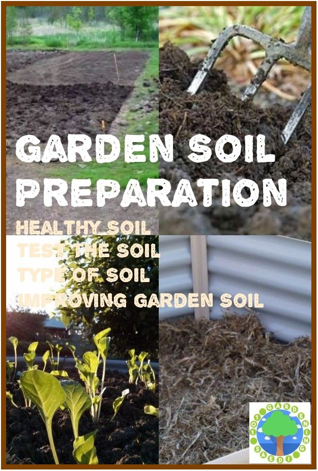 How To Prepare Soil For Gardening With Images Garden Soil