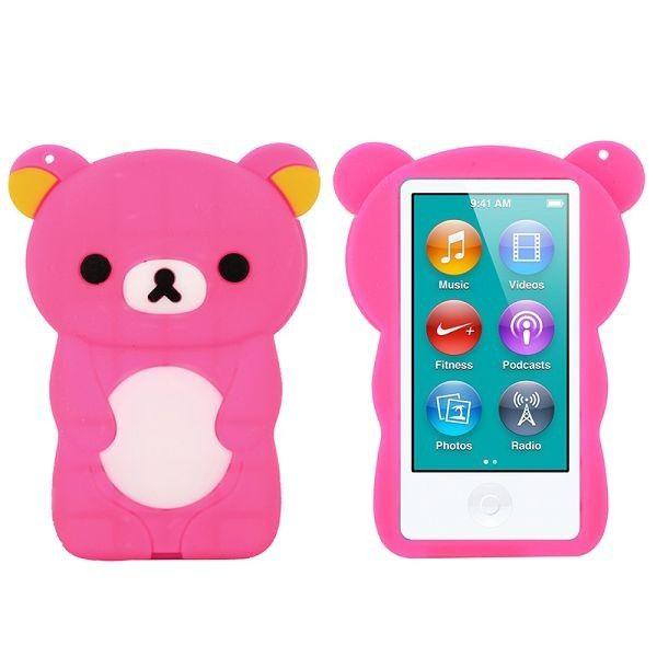 Happy Bear (Het Rosa) iPod Nano 7-Skydd