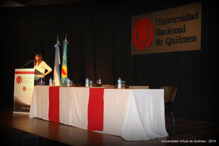 Acto Académico de Colación de Grado de la Modalidad a distancia de la Universidad Nacional de Quilmes