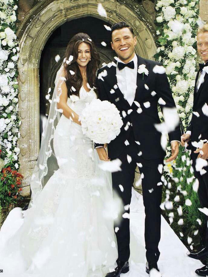 Michelle Keegan Mark Wright Wedding Dress