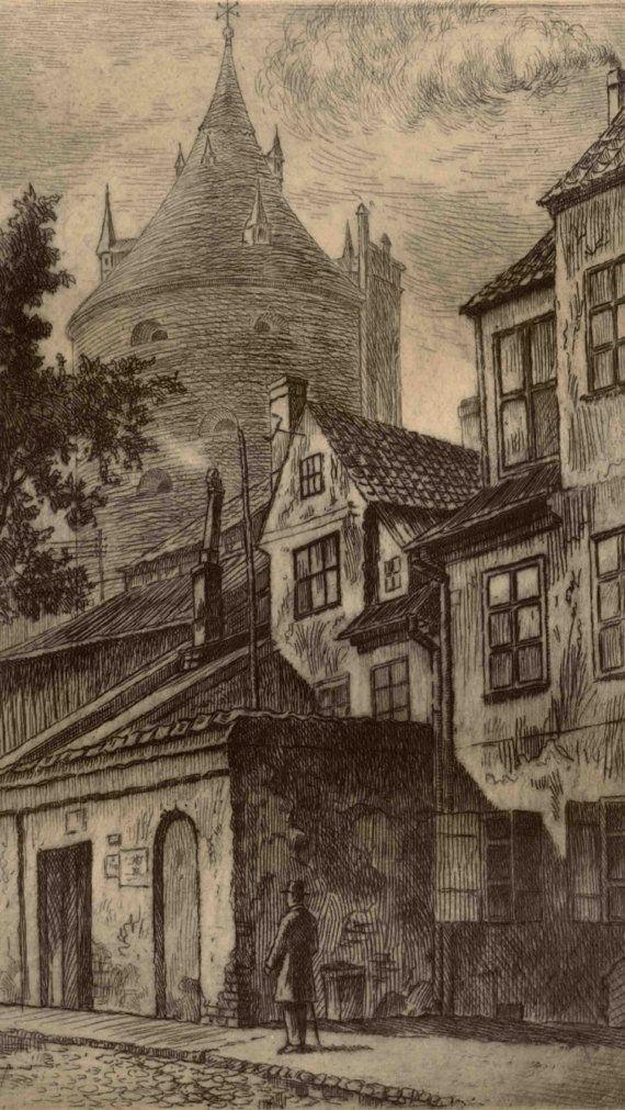 Old Riga  Old Riga Torņa street Latvia by ArthurDubursCanvas