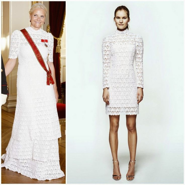 Crown Princess Mette Marit in Pia Tjelta by TiMo | MYROYALS &HOLLYWOOD FASHİON