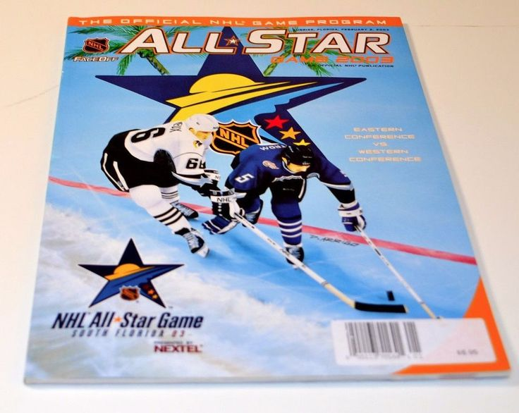FLORIDA PANTHERS 2003 NHL ALL STAR GAME THE OFFICIAL NHL GAME PROGRAM #FloridaPanthers