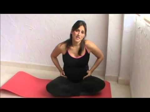 ▶ Ejercicio en el embarazo. Tercer trimestre (parte 1 de 2) - YouTube