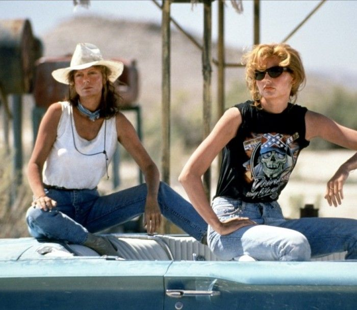 Thelma And Louise. Ultimate Road Trip Style.
