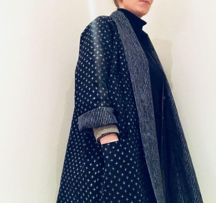 wiksten oversized kimono jacket pattern instructions