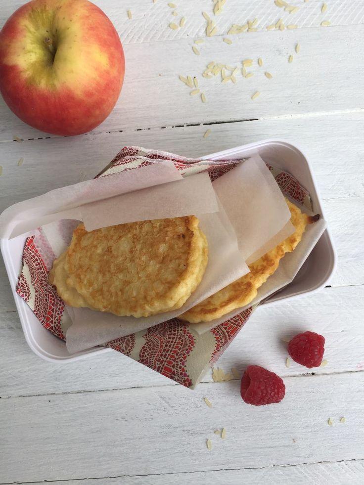 Milchreis Apfel Puffer 8