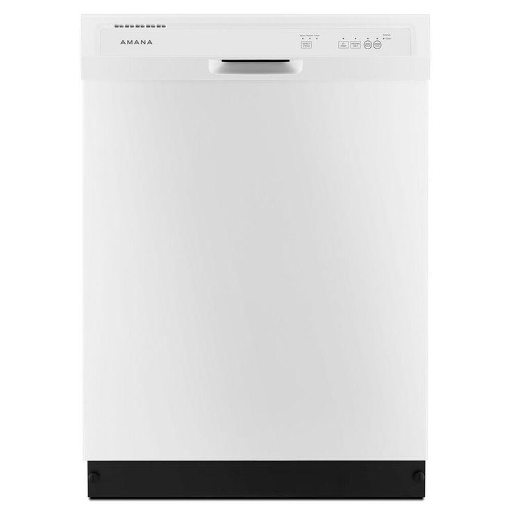 Amana Front Control Dishwasher in