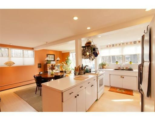From A Real Estate Listing In Massachusettsi Like The Open Unique Kitchen Design Massachusetts Design Ideas