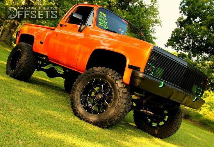 1985 Chevy Truck 4x4 Lifted | 18 5 1978 k10 1 2 ton p u 4wd chevrolet suspension lift 9 gear alloy ...