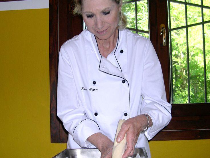 Sara Papa: Il profumo del pane. Corso di cucina.