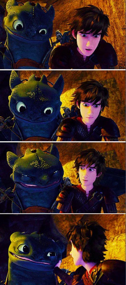 Демотиватор как приручить дракона