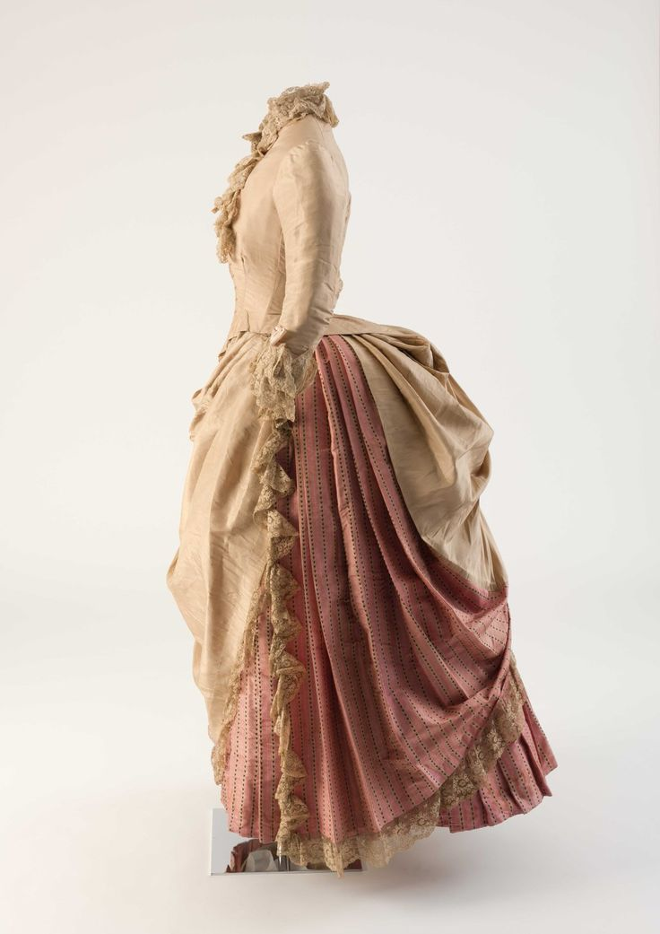 The Fashion Film: Dress, 1886 From The Fashion Museum, Bath On Twitter