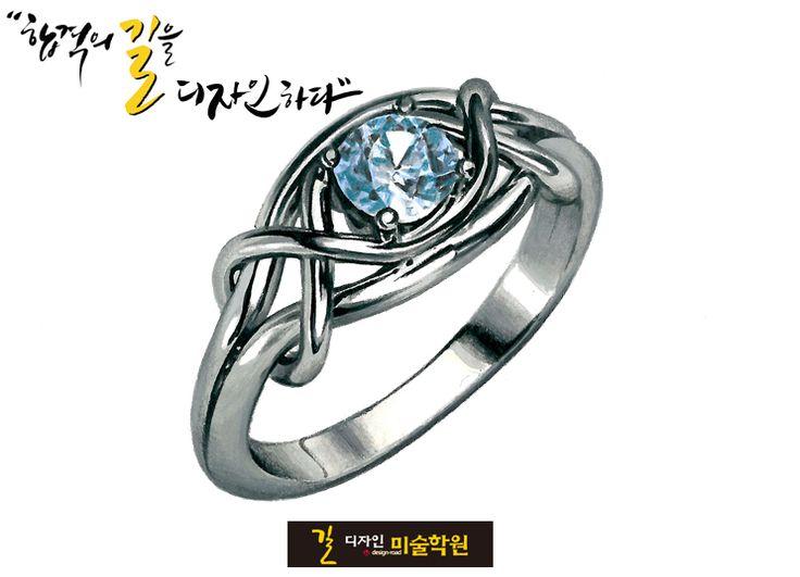 입시전문 길미술학원 -예비반 기초수업(개체묘사) 반지