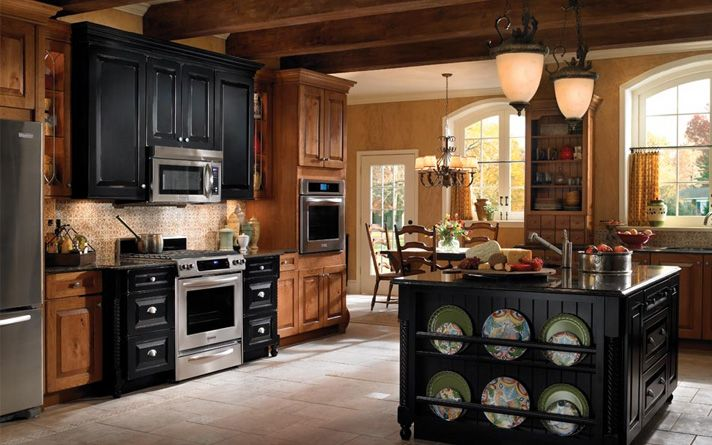 Best Black Rustic Kitchen Cabinets By Kraftmai Kitchen Designs 400 x 300