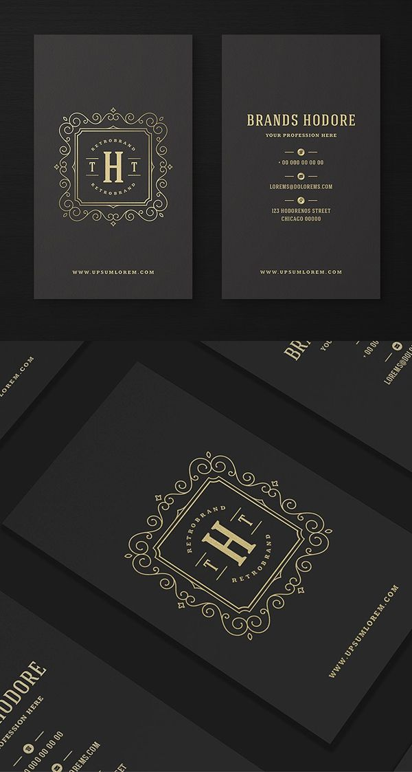 Luxury Business Card Luxury Business Cards Elegant Business Cards Design Name Card Design