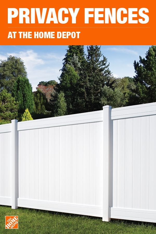 The Home Depot Has Everything You Need For Your Home Improvement Projects Click To Learn More And Shop Available Fe Privacy Fence Designs Privacy Fences Fence