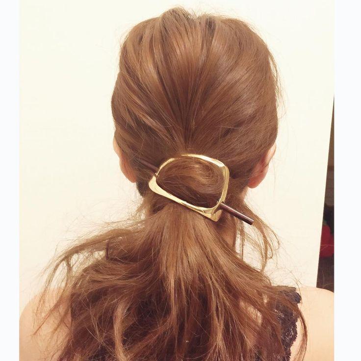 かんざしの進化系!「マジェステ」で作るヘアが色っぽいってウワサ♡ - Locari(ロカリ)