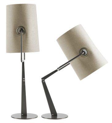 lampe de salon ivoire fork diesel with foscarini ivoire pied marron design - Lampe De Salon