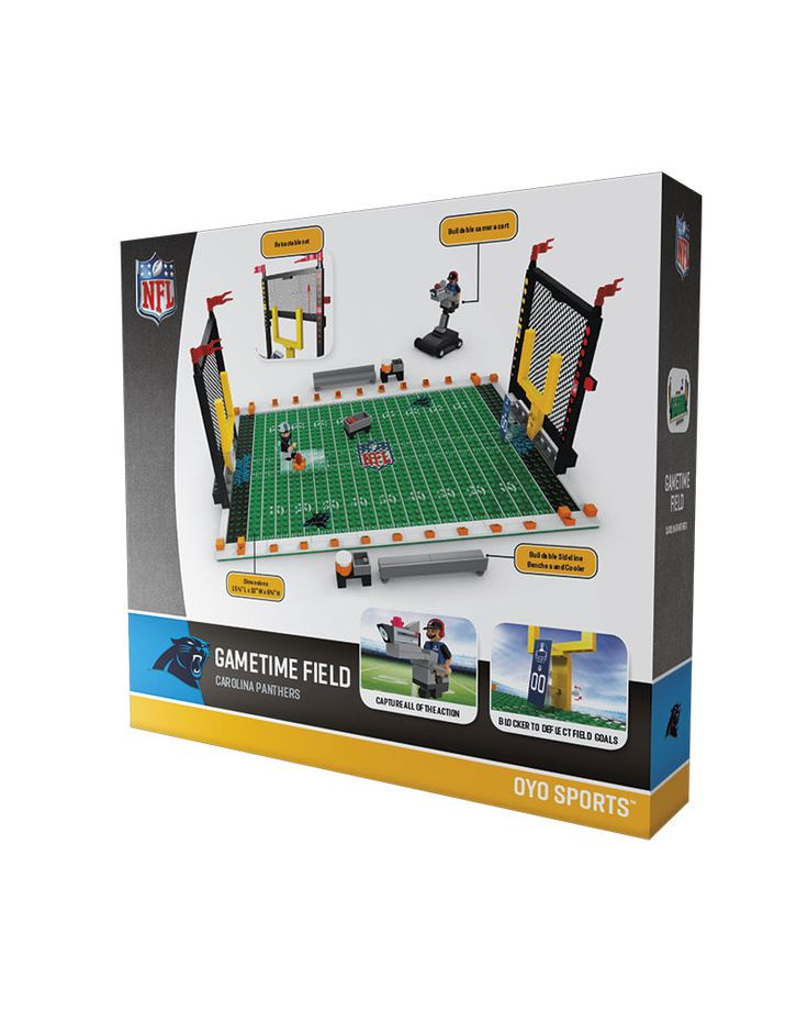 Carolina Panthers Football Team Gametime Set 2.0 OYO Playset