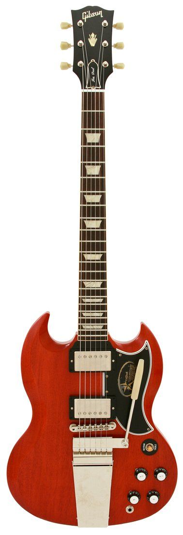 Gibson Custom Shop Electric Guitar SG Standard Reissue with Maestro VOS Faded Cherry
