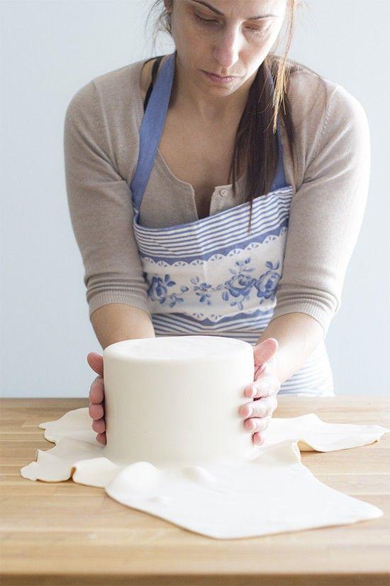 12 trucos infalibles para hacer una tarta fondant perfecta. Trucos y consejos…