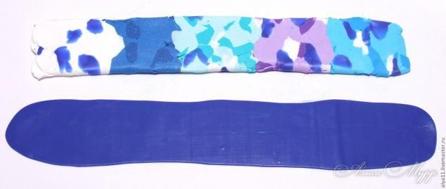 Доброго дня вам, мои дорогие! :) Хочу показать вам, как сделать вот такие 'водовороты' из полимерной глины. Велосипед я не изобретала, идея не слишком новая, это один из вариантов. Для работы нам потребуется совсем не много: 1. Полимерная глина выбранных цветов. Один из них должен быть самым тёмным. 2. Канцелярский нож или лезвие. 3. Ролик для раскатывания (бутылка, флакон из-под лака для волос - в об…