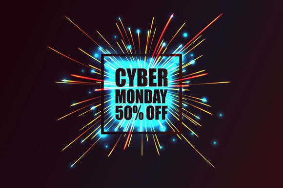 Cyber Monday discount fireworks by nastyaaroma on @creativemarket