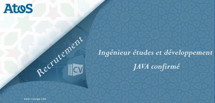#Atos #Maroc : #Recrutement d'#Ingénieur #études et #développement #JAVA confirmé à #Casa