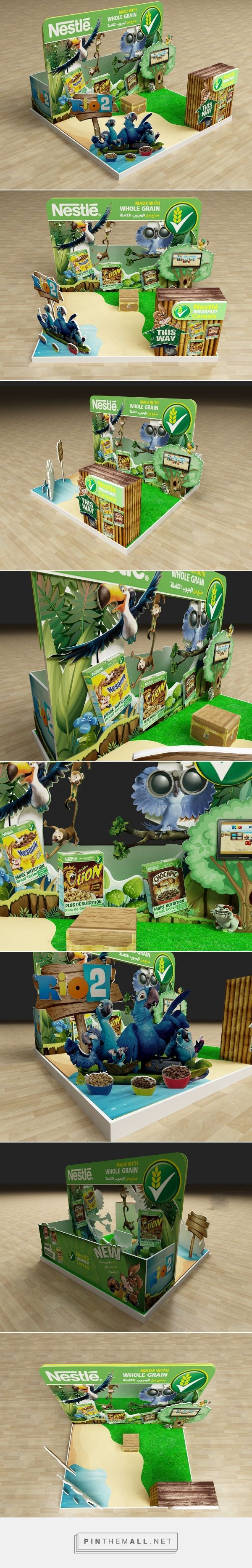 Nestle Rio2 Activation Booth on Behance  |  https://www.behance.net/gallery/33002811/Nestle-Rio2-Activation-Booth - created via https://pinthemall.net