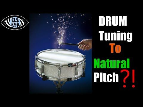 DRUM Tuning to Natural Frequency | Does It Help? | How to tune drums |shell,pitch,resonance,science  Video  Description In this video I tested out if my drum sound gains resonance (volume), by tuning the drumheads in relationship to a frequency, amplified by the drum shell. I tried it in 2...