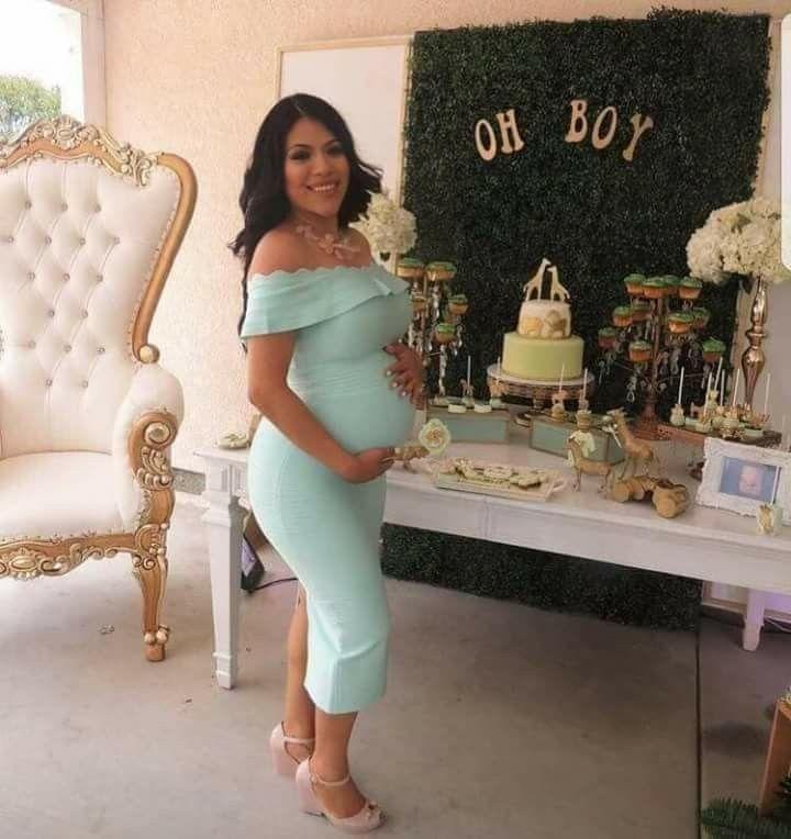 Vestidos Para Usar En Tu Baby Shower Vestidos Para Baby Shower Vestidos Para Embarazadas Embarazo Moda Verano