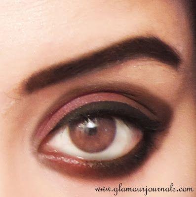 Deepika Padukone Inspired Look From Ram Leela | Indian Makeup on http://www.glamourjournals.com