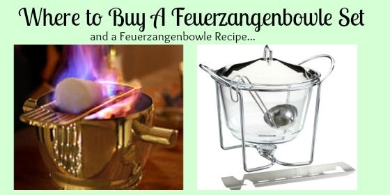 Where to Buy Feuerzangenbowle Set
