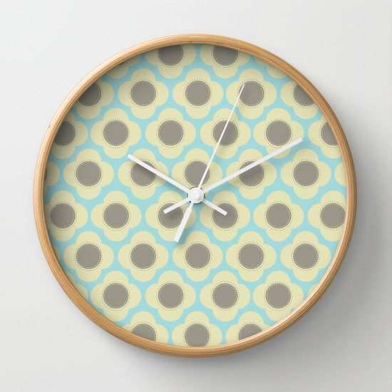 Orla Floral Wall Clock - my most popular product so far!