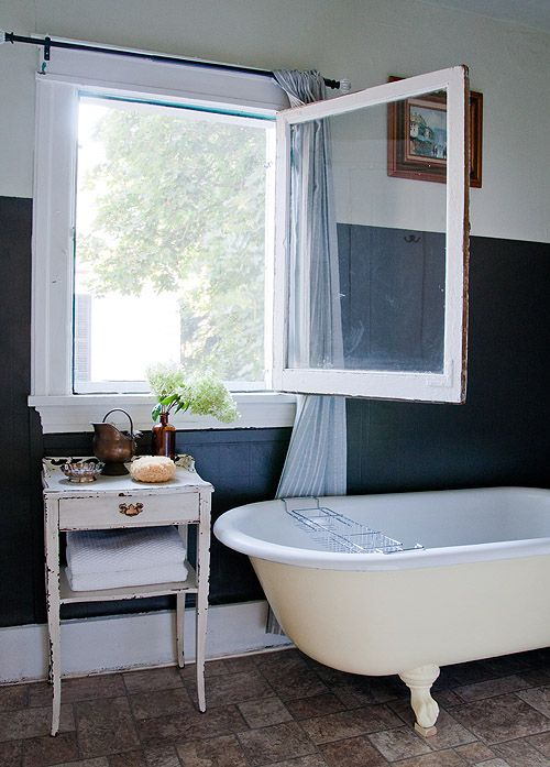 I hate taking baths because I get claustrophobic from the steam - this might just make it possible to be able to take them!