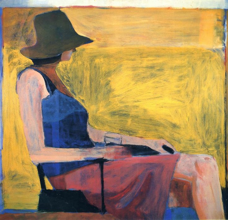 Richard Diebenkorn ~ Abstract and Figurative Expressionism painter | Tutt'Art@ | Pittura • Scultura • Poesia • Musica