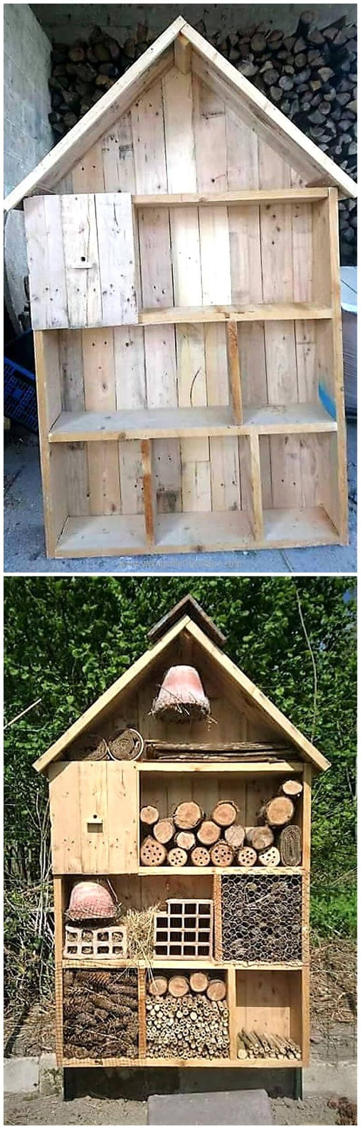 wooden pallet Insect Hotel