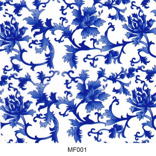 Hydro printing film flower pattern MF001