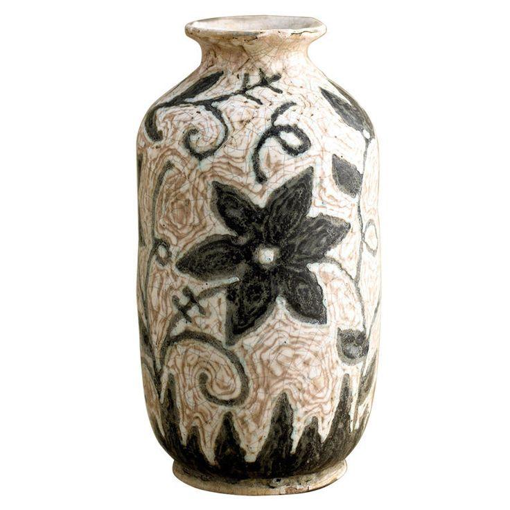 Geza Gorka Floral Ceramic Vase