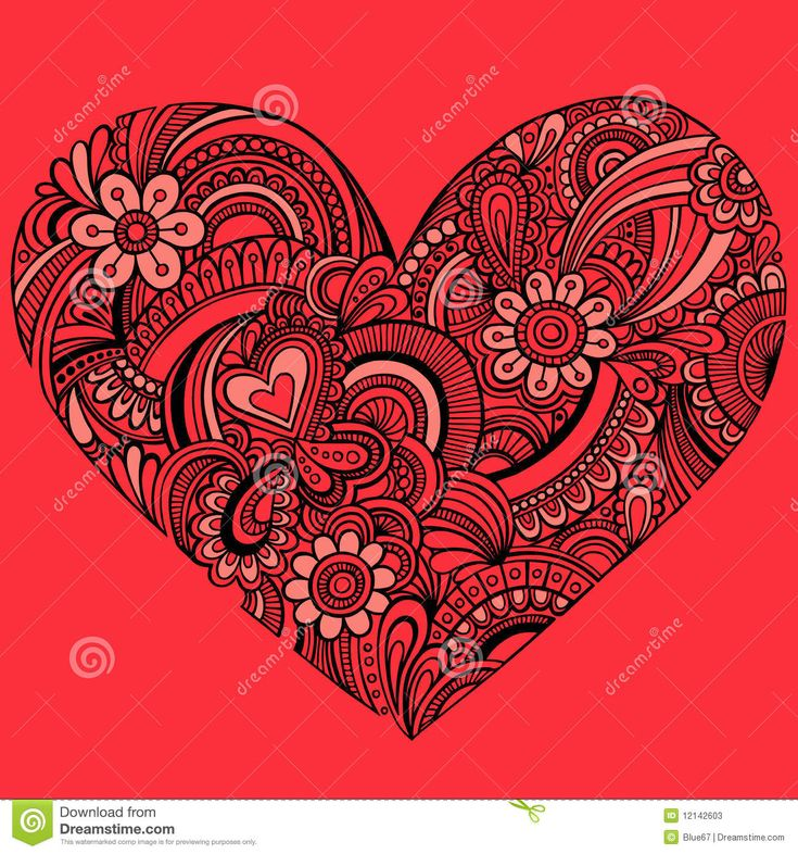 paisley heart tattoos - Google Search