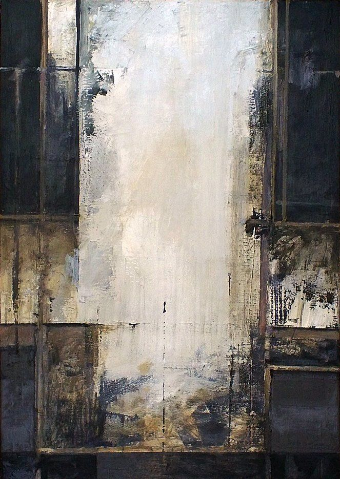 """Stephen Croeser """"Untitled"""" Oil on canvas H : 595mm x W: 425 mm"""