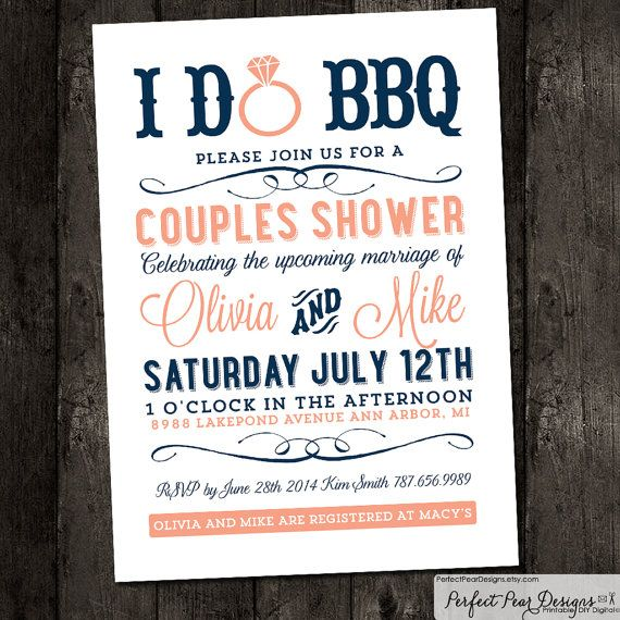 Couples Bbq Baby Shower: 17 Best Images About BBQ Couples Wedding Shower On