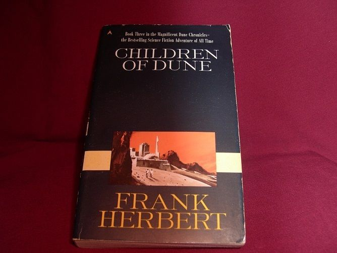 Children of Dune: Frank Herbert (1987 Reprint SF Novel, Dune Series Bk 3 Pb)