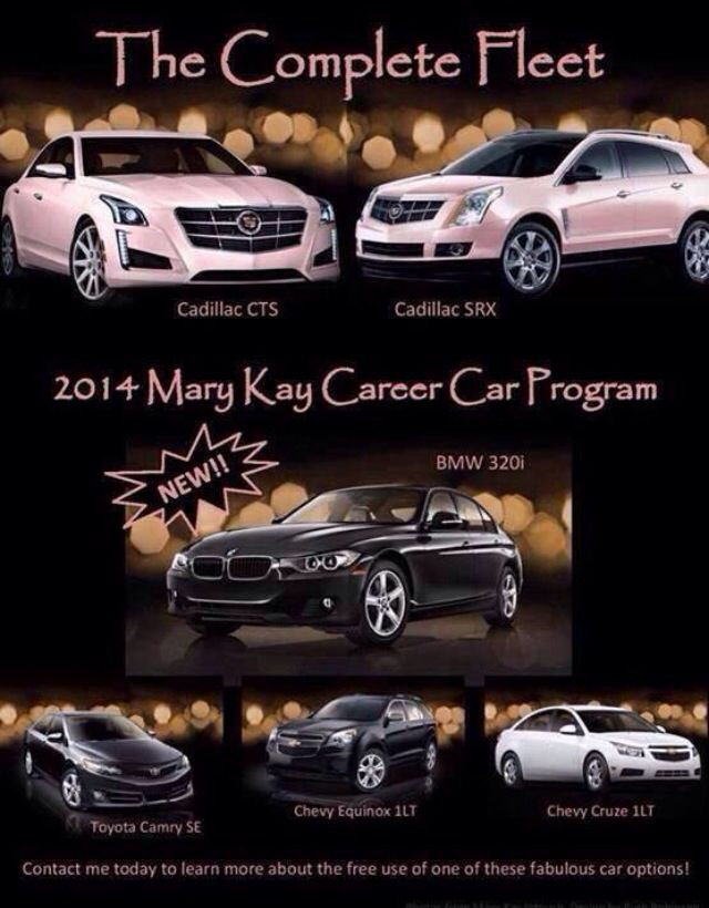 Revised 2014 Car Line Up! What will you drive?  www.marykay.com/myra.stepter www.facebook.com/myra.stepter